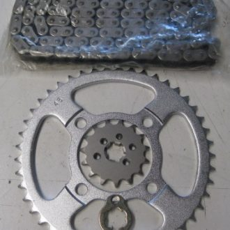 Chain and Sprocket set - early model CT110 - 86 - 99 model
