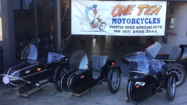 Side car - message only.