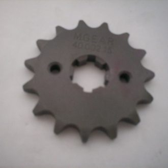 Sprocket - Front 15T - suit Postie bike models from 1979 on.