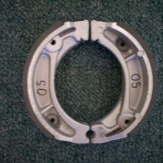 Brake shoe set O/S (front) also fits....