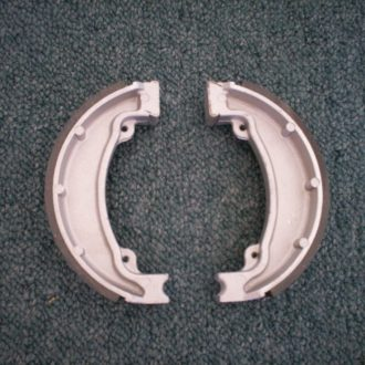 Brake shoe set STD. Rear - Standard for CT110X model Postie bikes 1999 onward