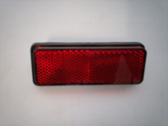 Reflector rear universal rectangular type