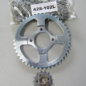Sprockets 14T/45T & 102L Chain Set - suit 1999 onwards