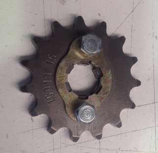 Front Sprocket 15 tooth - good quality