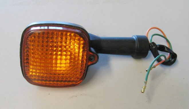 Indicator Body & Lens with Rubber Stem
