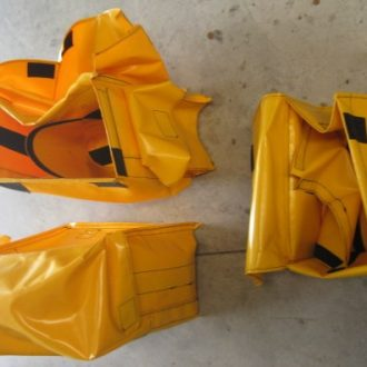 Yellow Bags only - front and rear set.