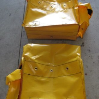 Yellow rear bags only - no mounting rack