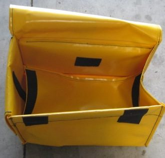 Yellow front bag only - no mounting bracket