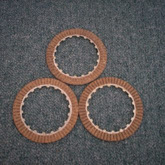 Clutch plate (friction) suit all CT110 - SOLD AS SET OF 3