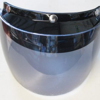 Universal clear flip up visor - suit open face helmet