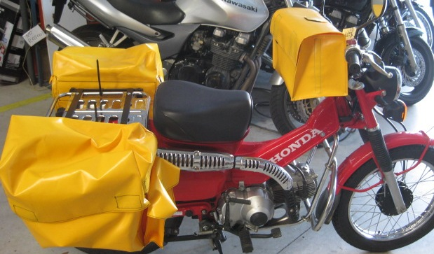 Yellow bag assembly